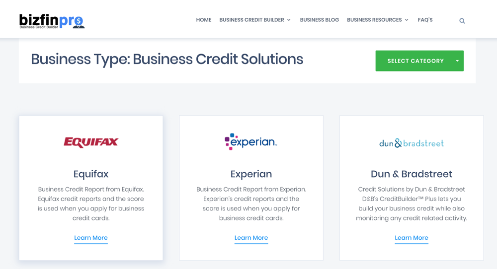 Bizfinpro review free business credit builder platform business credit builder business credit building business credit score reheart Images