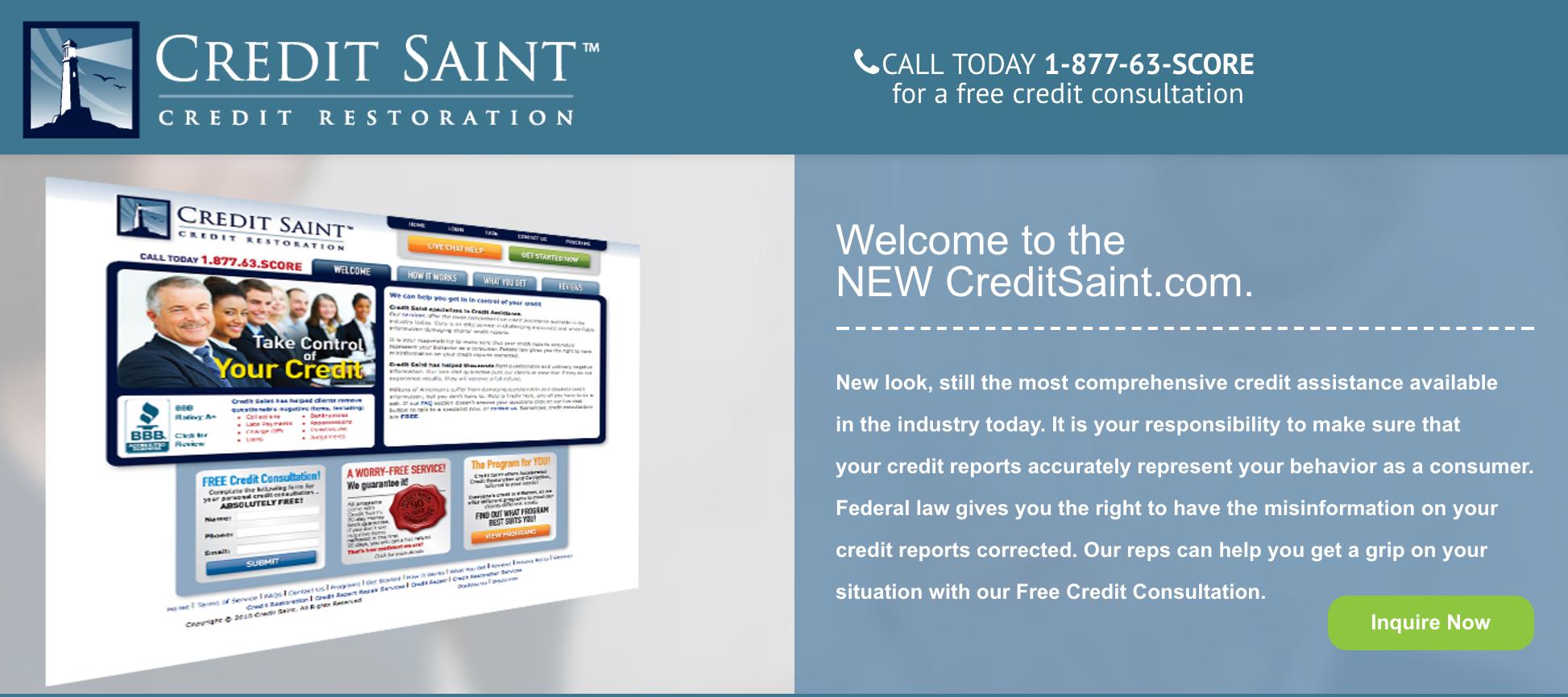 Credit Saint Reviews (Apr. 2019)   Credit Repair Firms ...