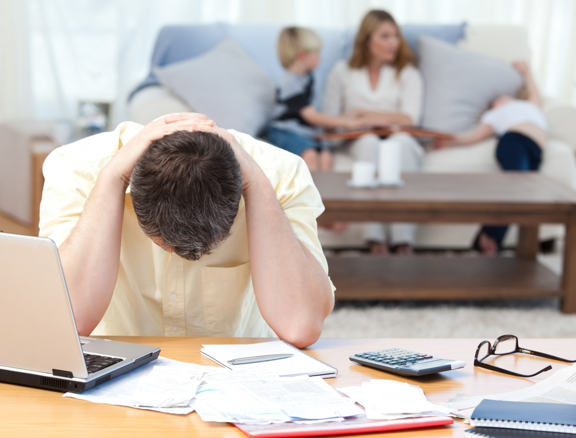 Financial Stress Affects Your Sleep
