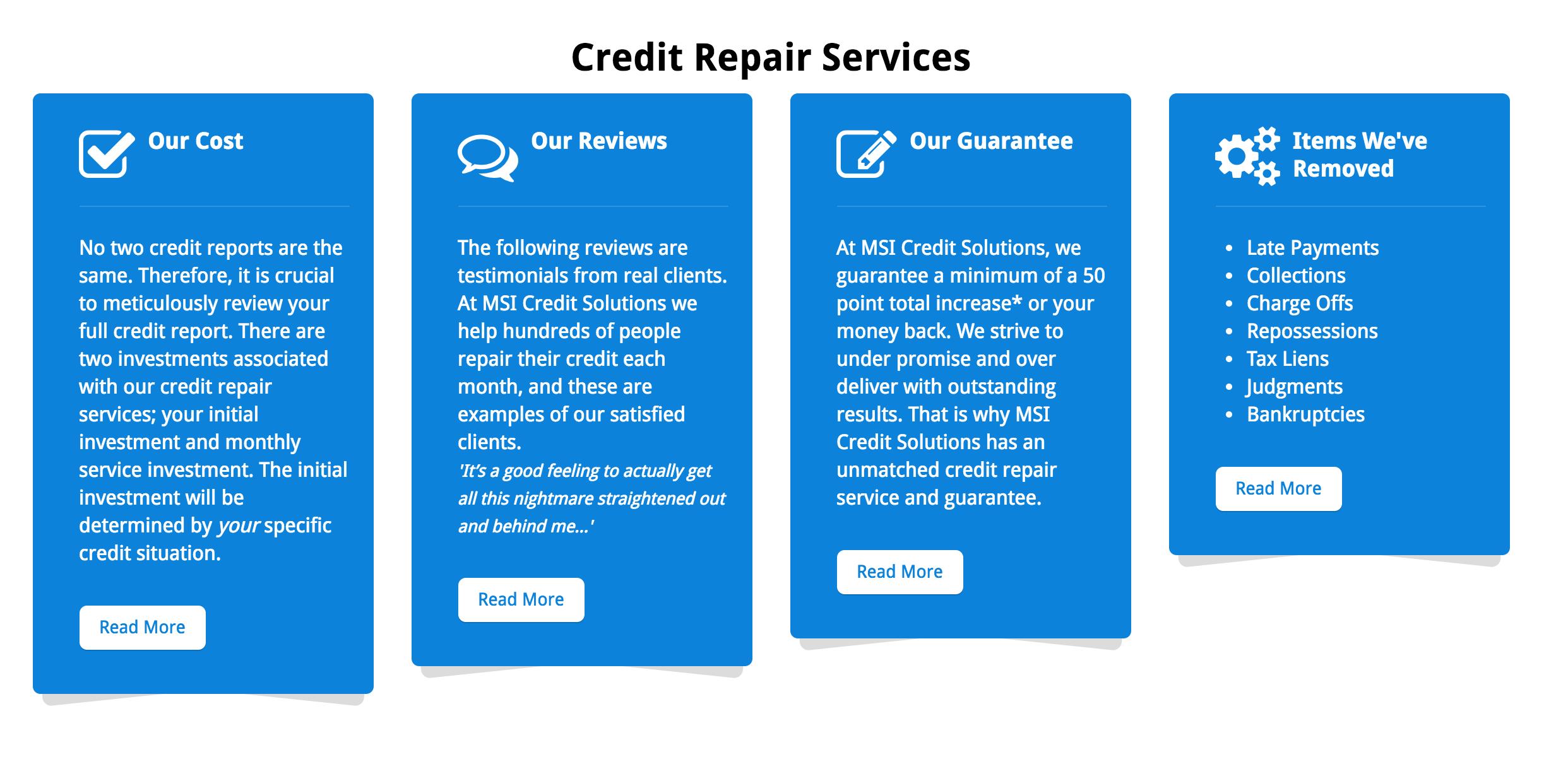 MSI Credit Solutions Review | Compare Best Credit Repair